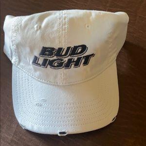 Men's adjustable worn look hat